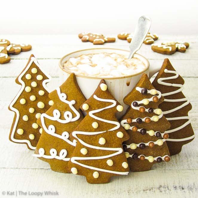 Quick Gingerbread Cookies
