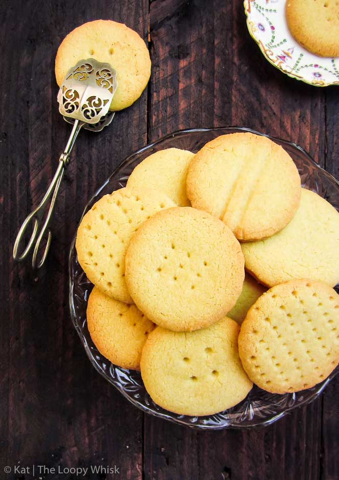 Quick Vanilla Shortbread Cookies The Loopy Whisk