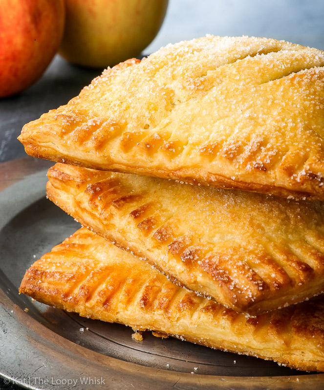 Gluten Free Caramel Apple Hand Pies The Loopy Whisk