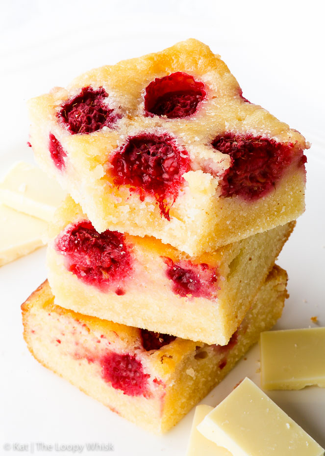 Gluten Free Raspberry White Chocolate Brownies The Loopy Whisk