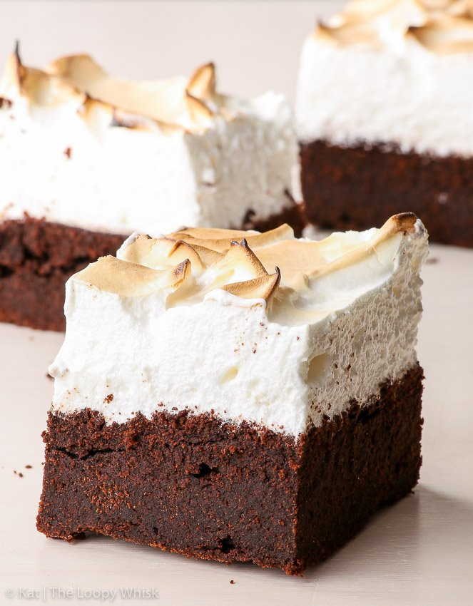 Sky High Gluten Free Marshmallow Brownies