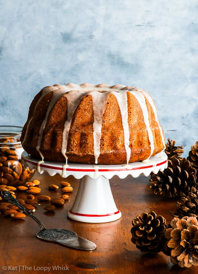 Gluten Free Almond & Orange Bundt Cake {gluten, peanut & soy free} - This gluten free orange bundt cake is both easy to make and ridiculously satisfying to eat. Infused with plenty of orange flavour from the orange zest and juice, this gluten free bundt cake with a delicious orange glaze is moist, buttery and utterly scrumptious. #glutenfree #bundtcake #cake