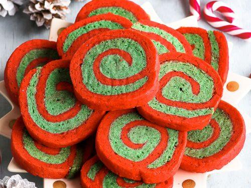 Gluten Free Christmas Pinwheel Cookies