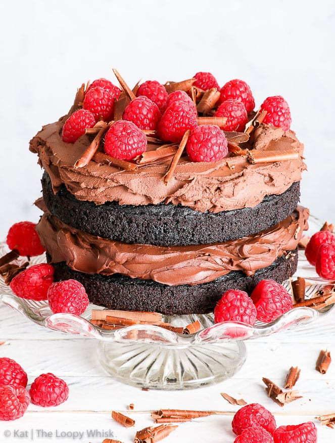 Stupendous The Best Gluten Free Vegan Chocolate Cake The Loopy Whisk Birthday Cards Printable Nowaargucafe Filternl