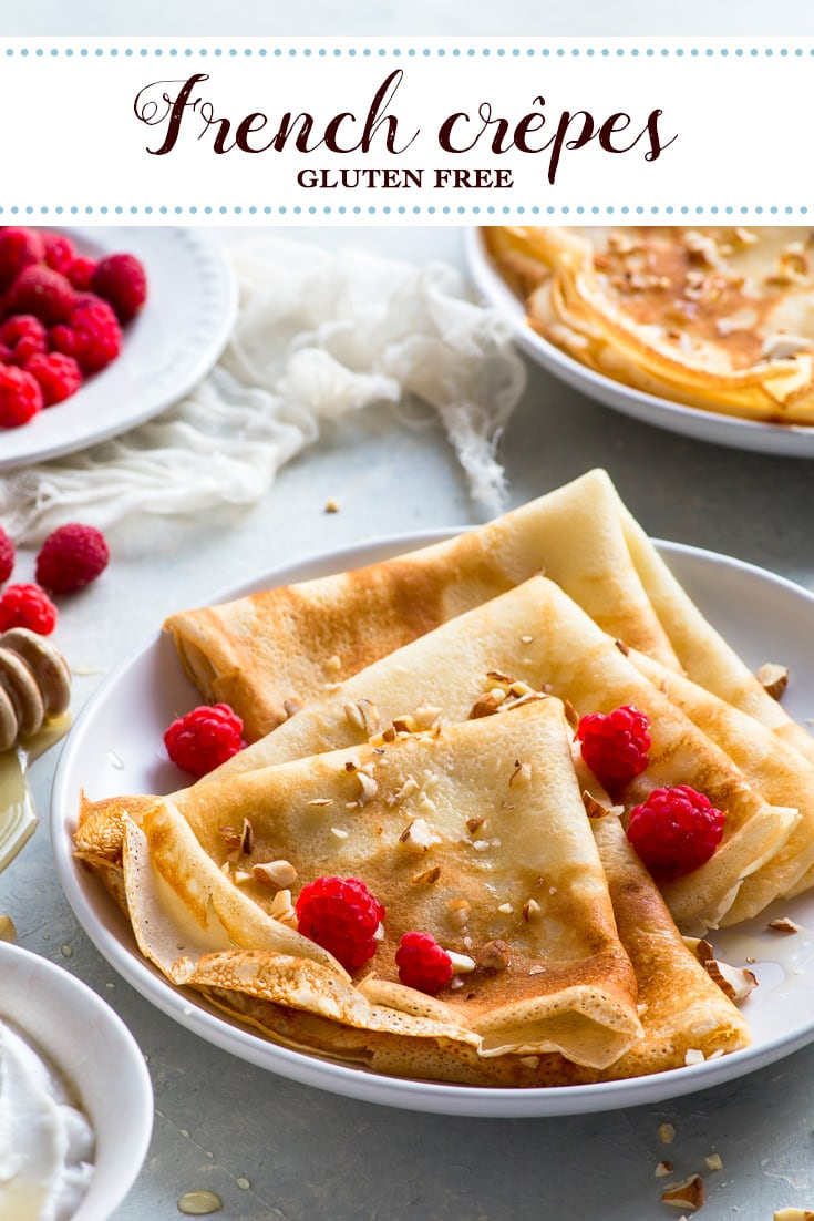 Gluten Free Crepes French Style Gluten Free Pancakes The Loopy Whisk