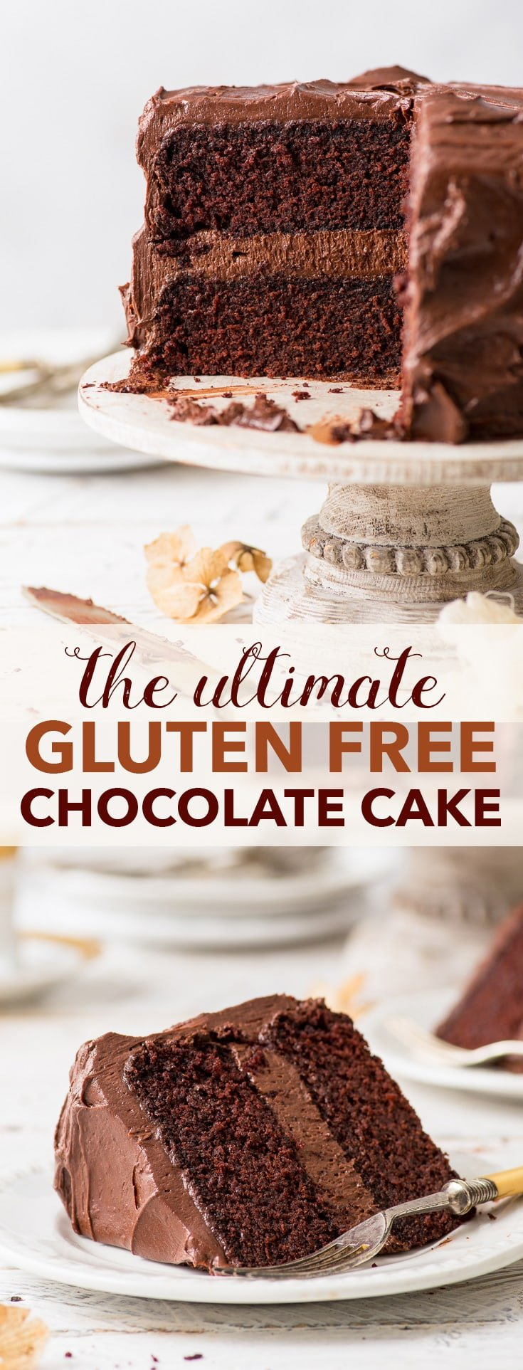 The Ultimate Gluten Free Chocolate Cake - The Loopy Whisk