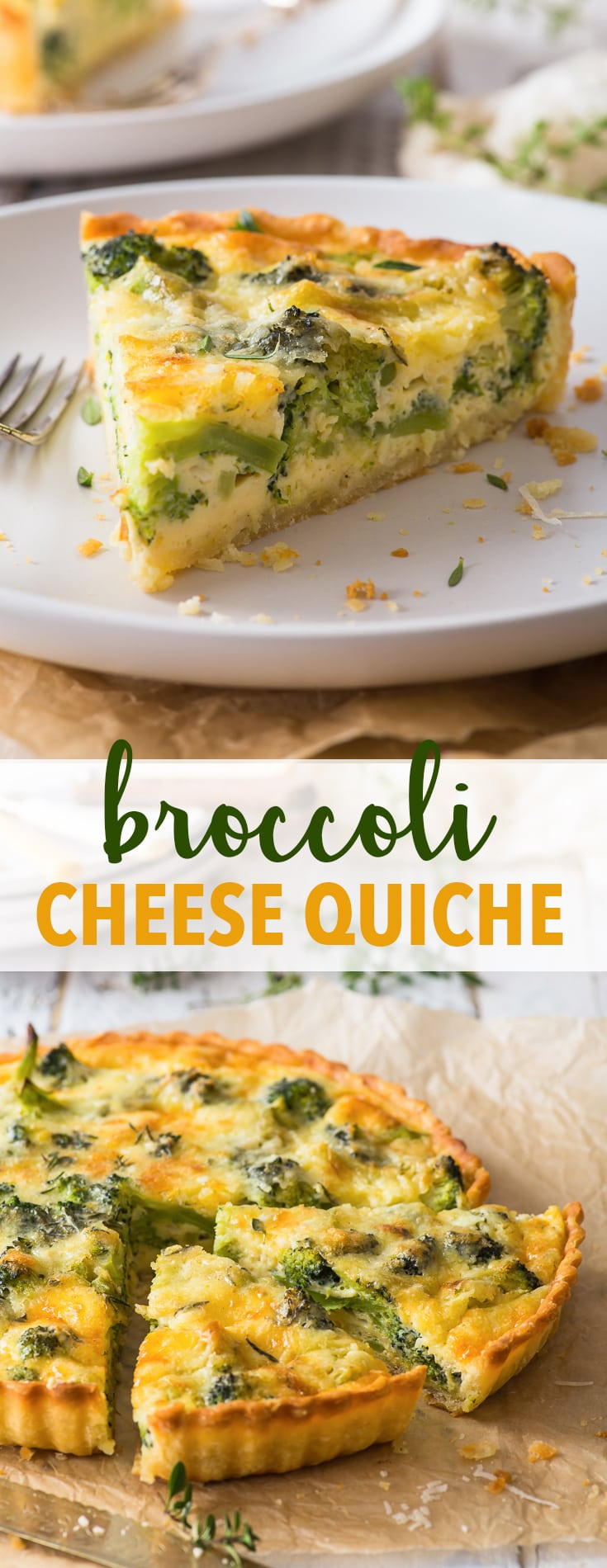 Vegetarian Broccoli Quiche The Loopy Whisk