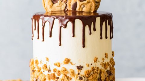 Superb Chocolate Chip Cookie Cake The Loopy Whisk Personalised Birthday Cards Petedlily Jamesorg