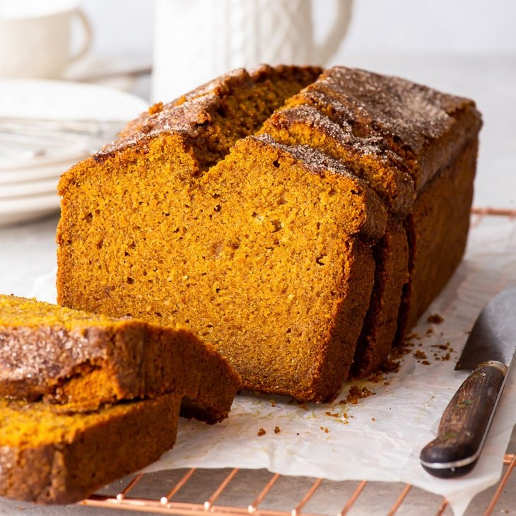 The Best Gluten Free Pumpkin Bread Recipe The Loopy Whisk