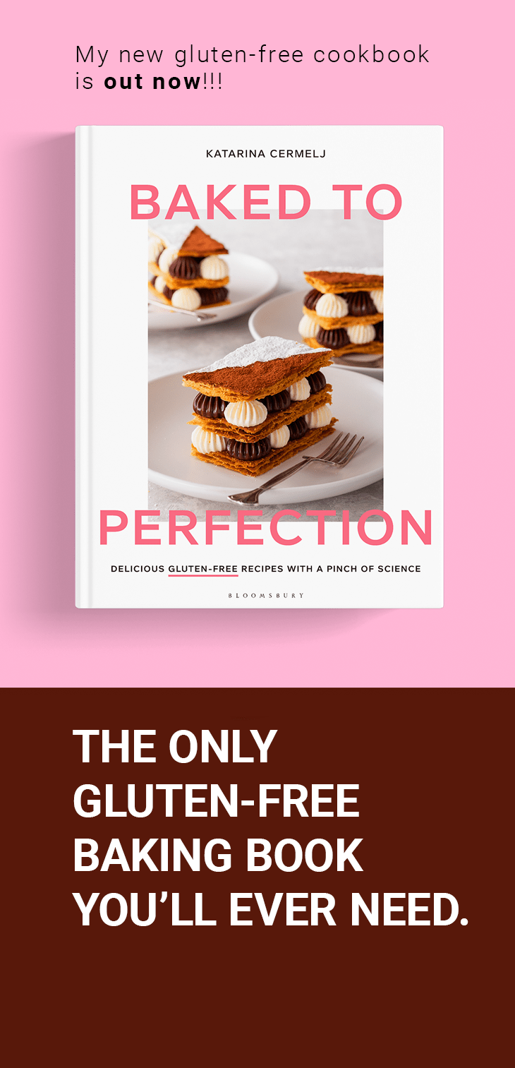 Baked to Perfection - Gluten Free Cookbook