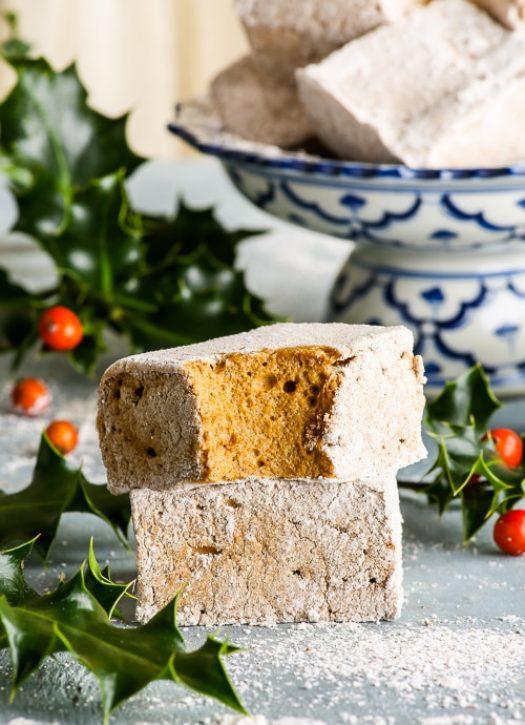 Christmas Dessert: Homemade Gingerbread Marshmallows