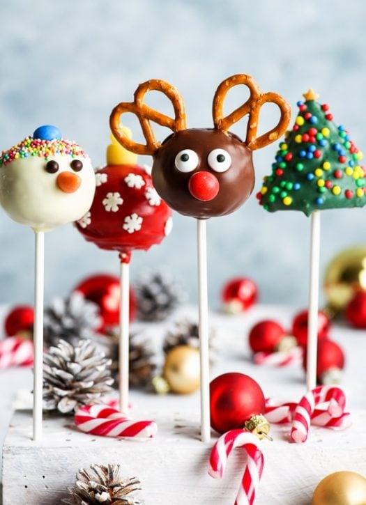 Christmas Dessert: Christmas Cake Pops